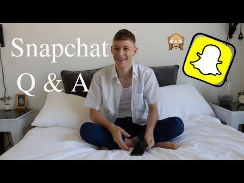 SNAPCHAT Q&A | My Trip around the World