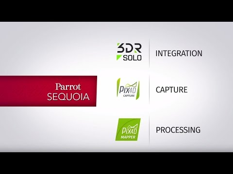 Pix4D Agriculture Solutions - Setting up 3DR Solo + Sequoia Multispectral Camera