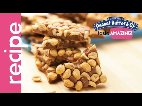 Dark Chocolate Dreams Peanut Brittle recipe