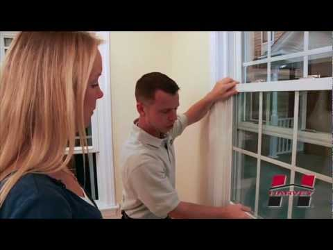How to Operate & Clean Your Harvey Double Hung Window