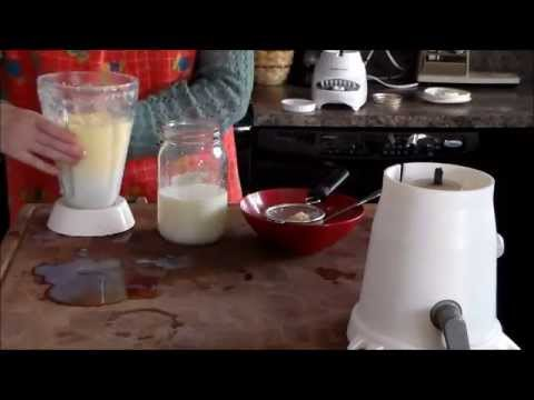Making Butter: Goat and Cow Comparison