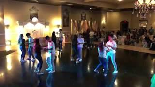 Stefanias Quince Surprise Dance  2019 Quinceaera Reggaetn Cumbia Bachata Hip Hop