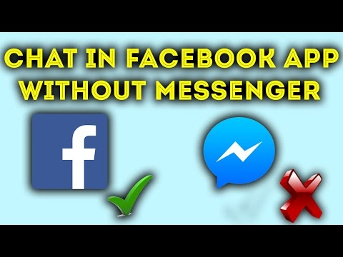How to Enable Chat in Facebook app Without Messenger! Without Root
