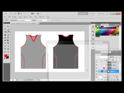PS Vid: Making Your Own Basketball Jersey Design