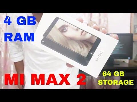 XIAOMI MI MAX 2 4 GB RAM 64 GB STORAGE | UNBOXING & HANDS ON