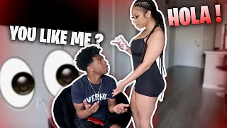 GOING ON A DATE WITH A GIRL AND SHE ONLY SPOKE SPANISH! *went bad*