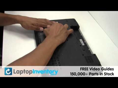 Lenovo Ideapad Z565 Fan Replacement Guide - CPU Cooling Fan Heatsink Notebook Laptop