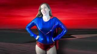 Ray Blast turns Super Samantha into a bimbo