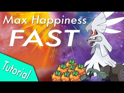 FASTEST MAX HAPPINESS Tutorial for Pokemon Sun and Moon