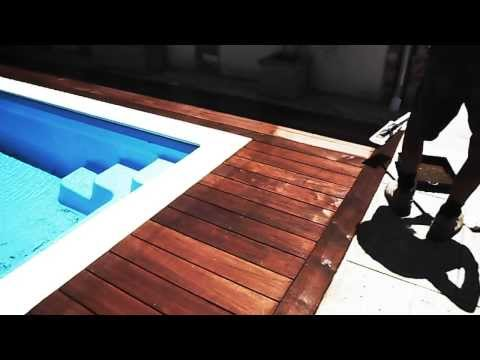 How to oil a hardwood deck (Merbau)