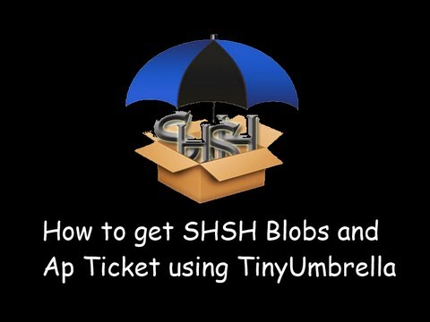 How to save SHSH Blobs and Ap Ticket using tinyumbrella