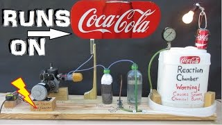 How To Make A Generator That Runs On Coca-cola! (Experiment!)