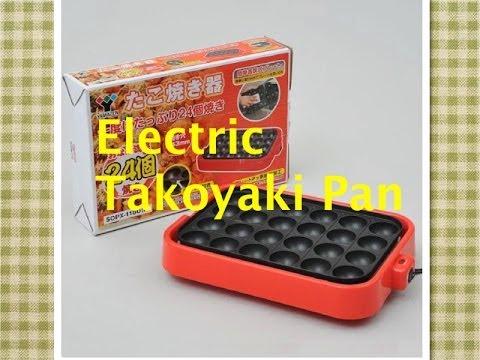 Electric Takoyaki Pan Pancake Puffs