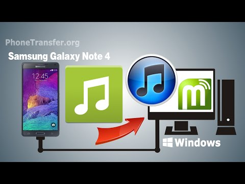 How to Sync Galaxy Note 4 Music with iTunes, Transfer Songs from Samsung Galaxy Note 4 to iTunes