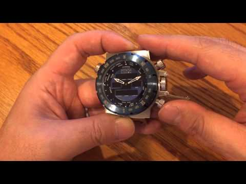 Invicta Intrinsic Time Setting Tutorial
