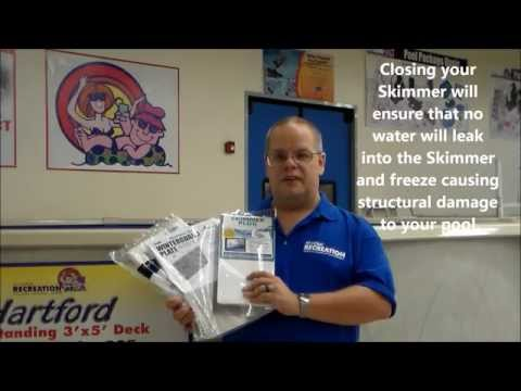 How to Close your Above Ground Pool by At Home Recreation, LLC
