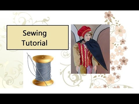 Easy Doll Cape Pattern and Tutorial
