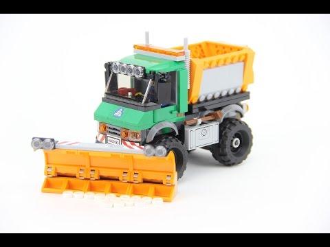 Build Lego 60083 Snowplow Truck