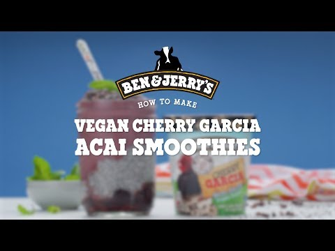 Vegan Cherry Garcia, Acai and Chia Smoothie Jar | Ben & Jerry's