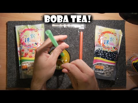 Boba Tea, Bubble Tea, Tapioca Pearls