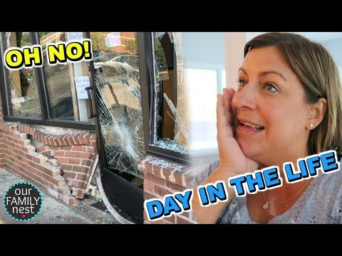 DAY IN THE LIFE!  ENDS WITH AN ACCIDENT!