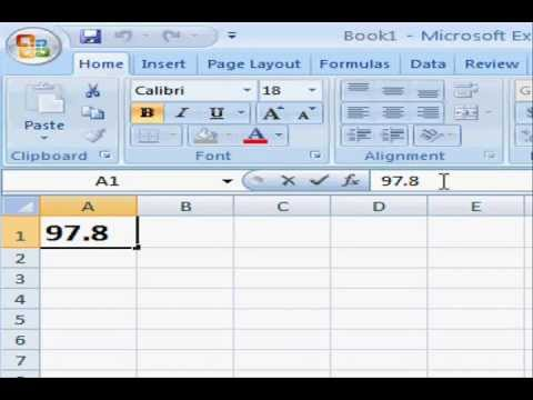 How to Insert the Degree Symbol in Microsoft Excel