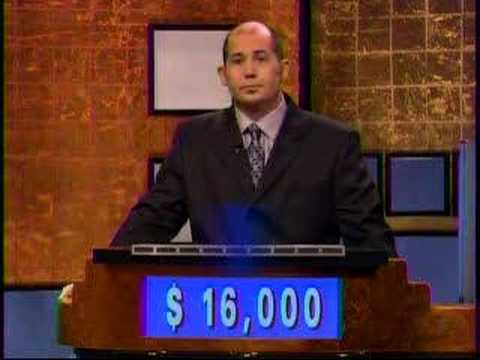Strangest Jeopardy Ending Ever