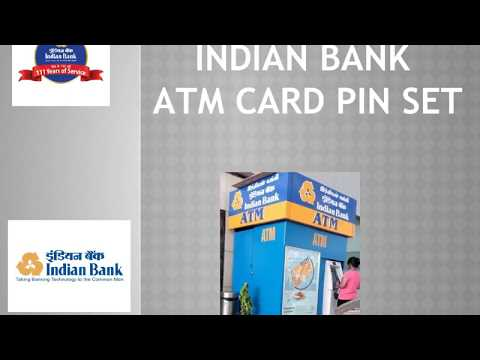 Indian bank Debit Card PIN set