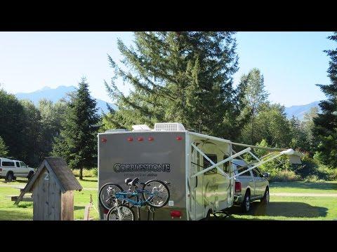 Alpine RV Park - Marblemount, WA.