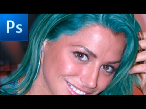 Photoshop Tutorial: Change Hair, Car, and Clothes Color! -HD-