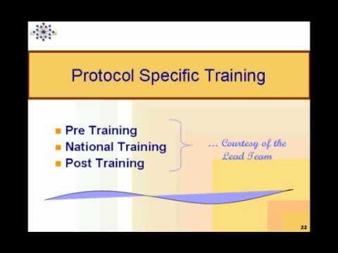 CTN Webinar: Study Training Plan Development.