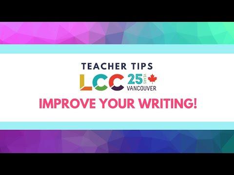 Writing tip: