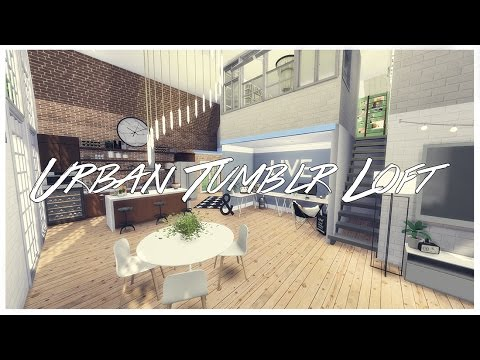 The Sims 4: House Build | Urban Tumblr Loft+ Download!