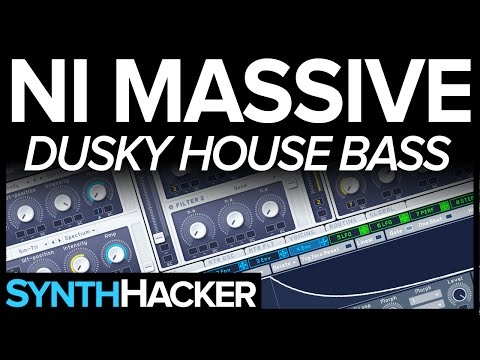Massive Tutorial - Dusky Style Deep House Bass