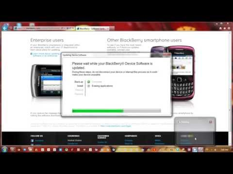 How to Update your blackberry to the latest os 7