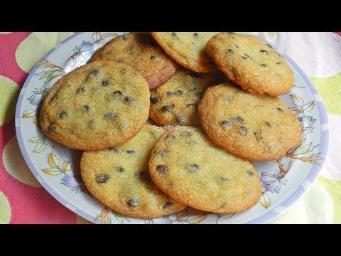 Eggless Chocolate Chip Cookies Recipe - Best Chocolate Chip Cookies (Thin & Crispy) - Priya R - MOIR