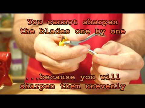 How to sharpen Cuticles with the MultiSharpener By Solinge®
