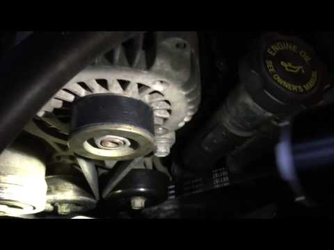 Replacing the belt and idler pulley on the LB7 Duramax