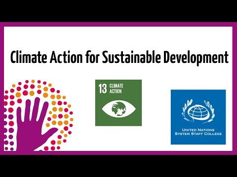 Climate Action for Sustainable Development