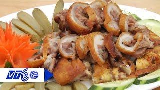 Bổ dưỡng, không ngán với món chân giò muối chiên | VTC