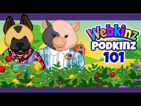 Webkinz Podkinz 101: Garden Oasis Room Theme
