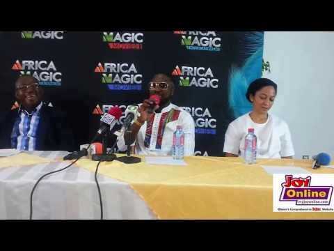 Press conference of Ghana's first ever Big Brother Africa reality show finalist, Elikem Kumordzi