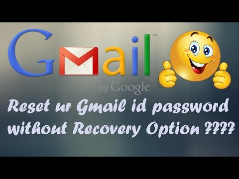 how to reset gmail password [2017]