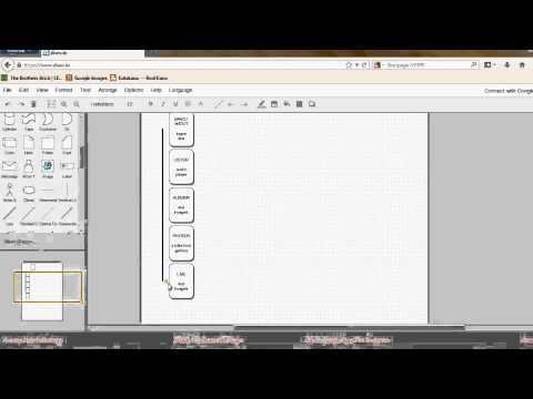 How to draw a website navigation diagram - Part 2.