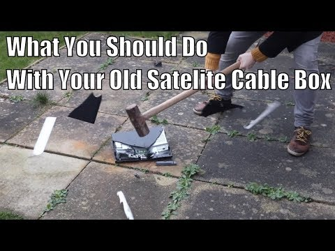 What you should do with your old cable satellite box