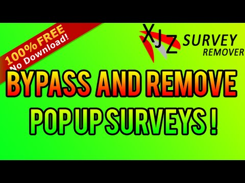 How to Bypass Surveys 2016 [No Download 100% Free]