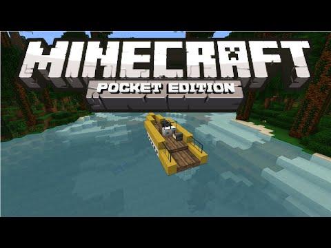 BOATS! - Minecraft Pocket Edition Mod