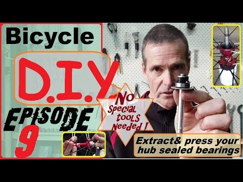 Hub sealed bearings-Extract &Press no special tools