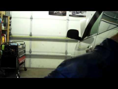 How to find an Evap leak using a disco fog machine and a vacuum gun
