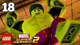 LEGO Marvel Superheroes 2 Walkthrough Part 17 with Black